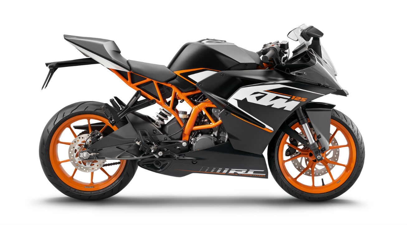 KTM unveils RC125, RC200 and RC390