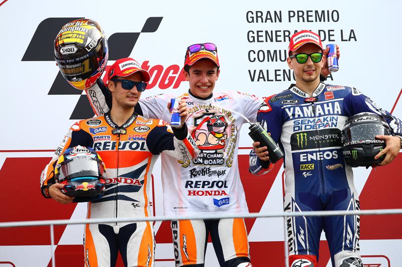 MotoGP 2013: Final Championship standings