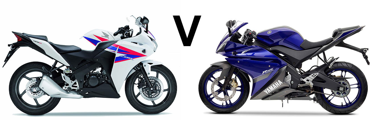 Versus Yamaha Yzf R125 Vs Honda Cbr125r Visordown