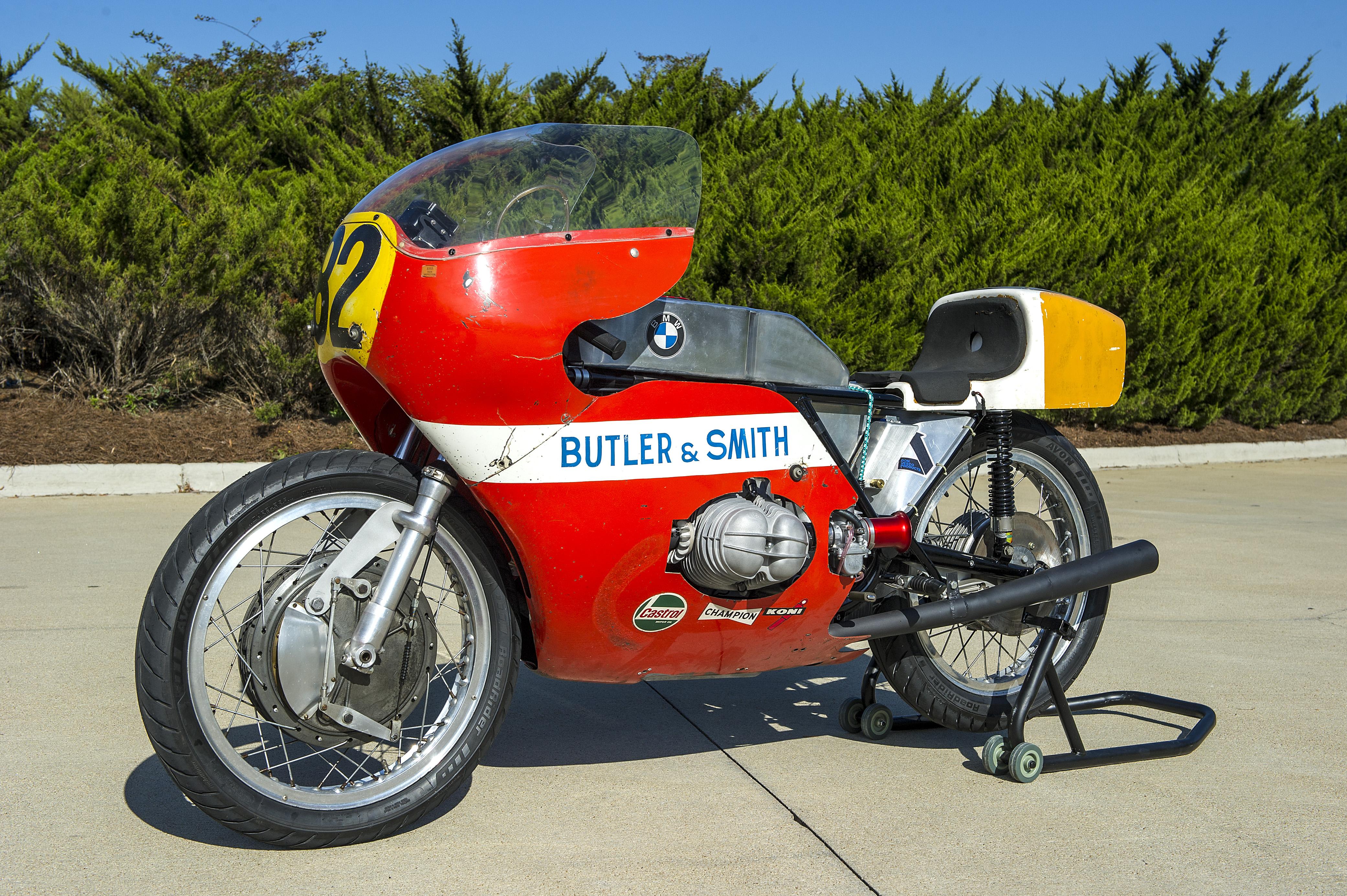 IOM TT-winning bike and BMW F750 go under the hammer