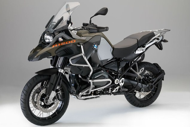 R1200GS gets steering damper for 2014