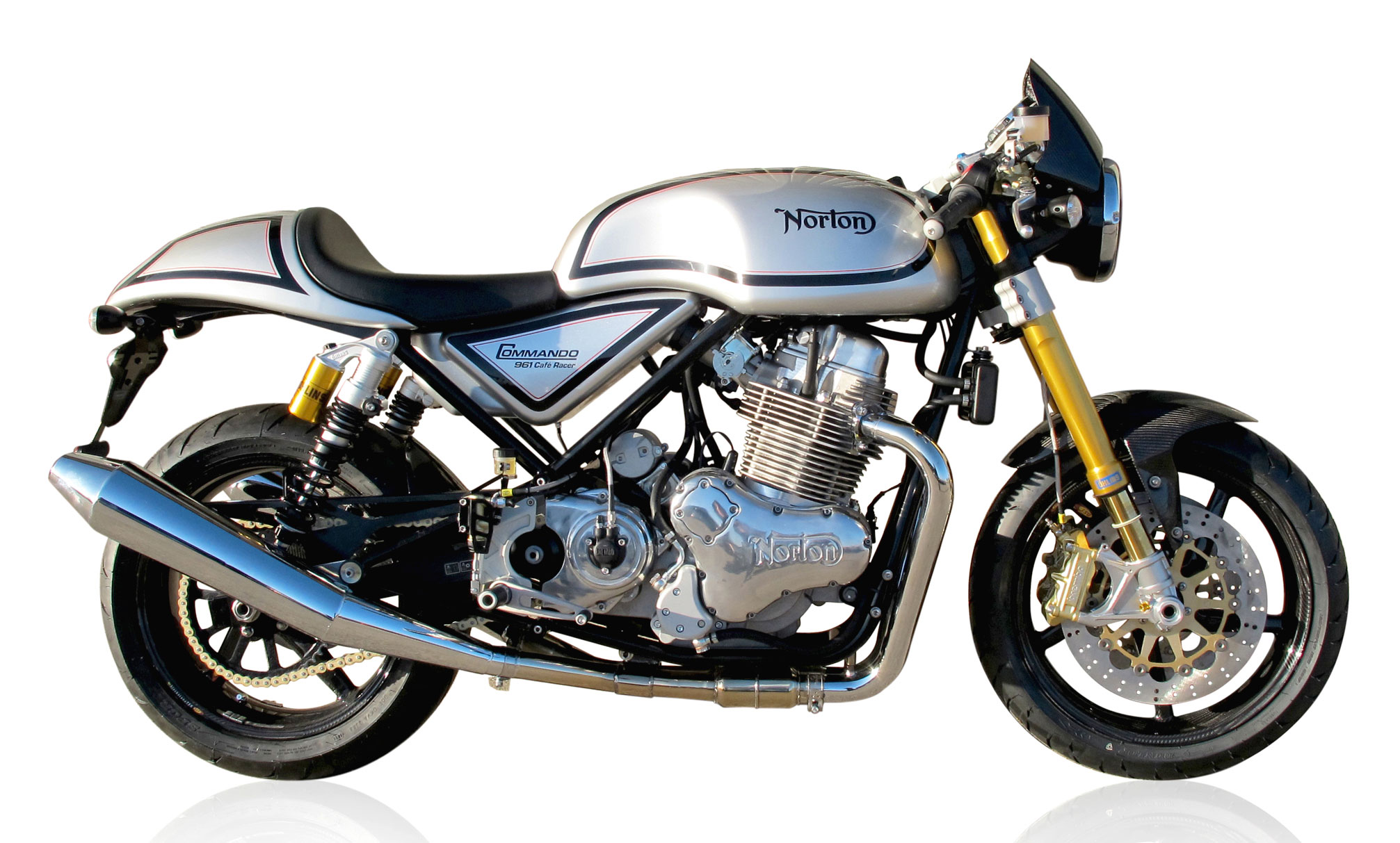 Top 10 production caf racers visordown for The norton