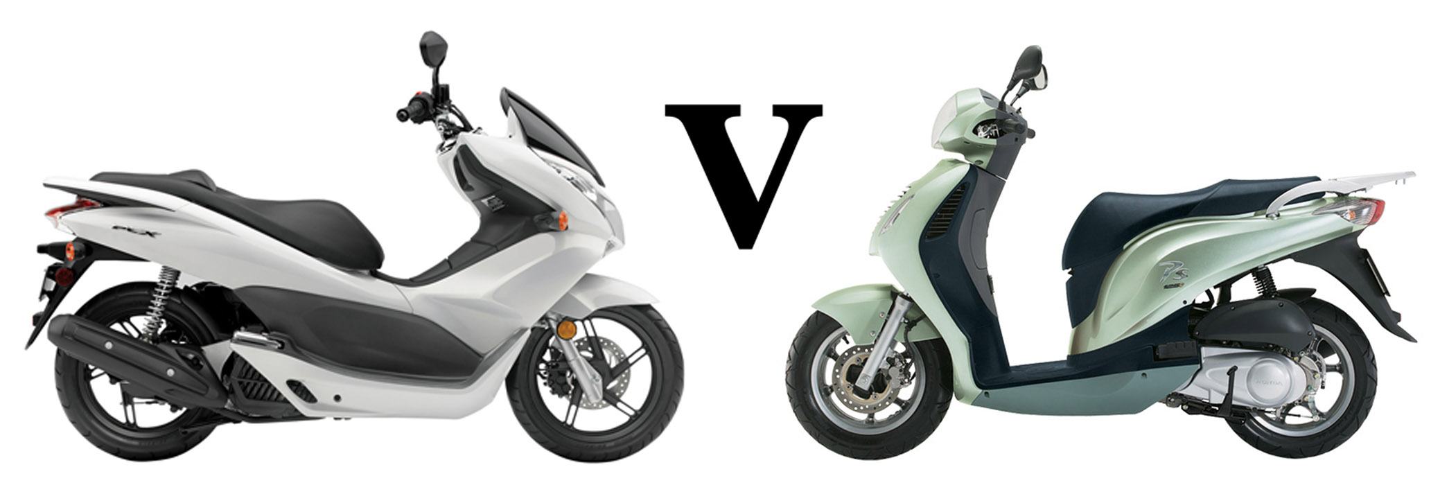 Versus: Honda PCX125 vs Honda PS125i