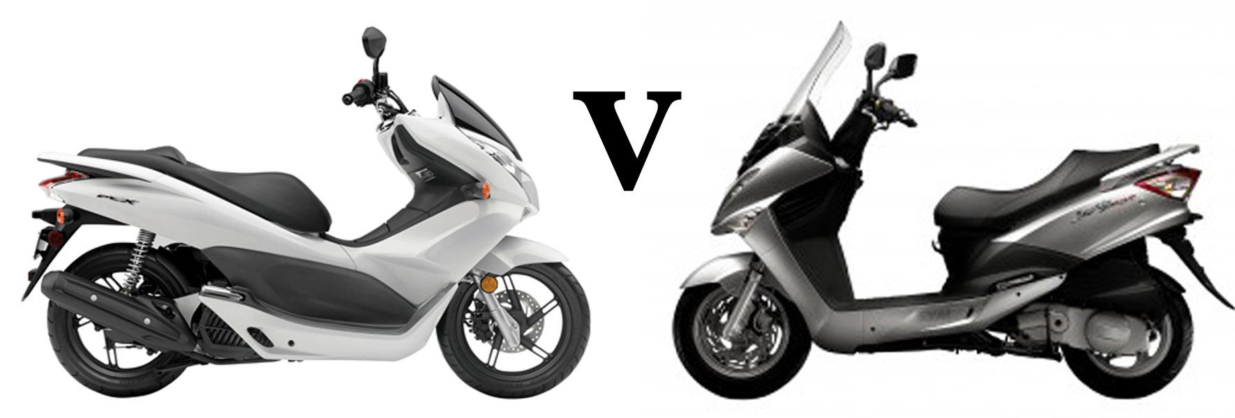 Versus: Honda PCX125 vs Sym Joyride 125