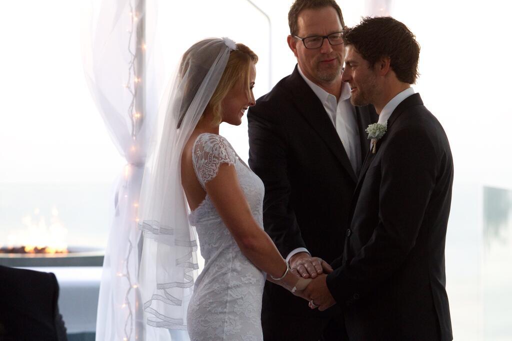 Cal Crutchlow weds