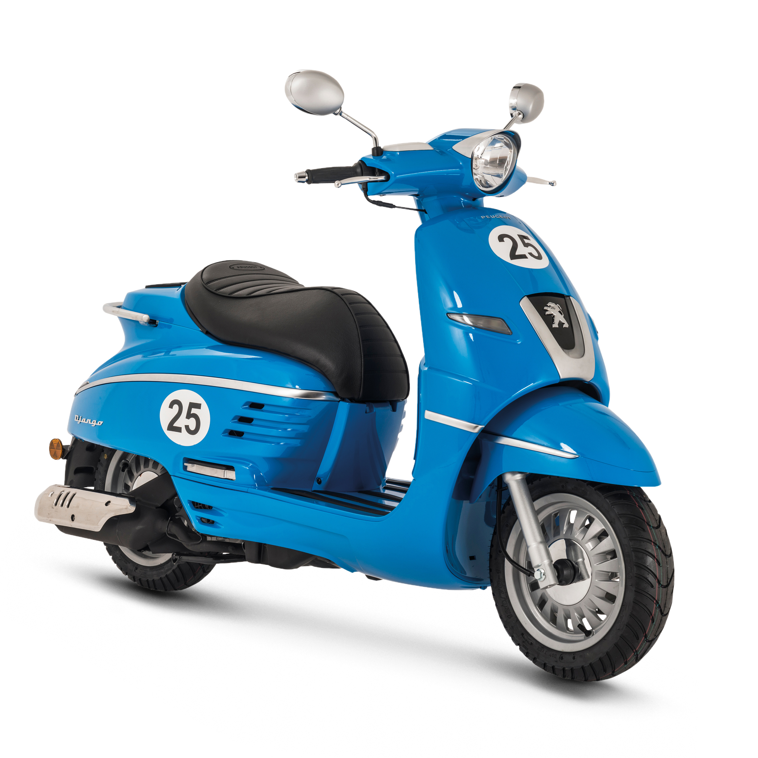 New: Peugeot Django retro scooters, available this summer
