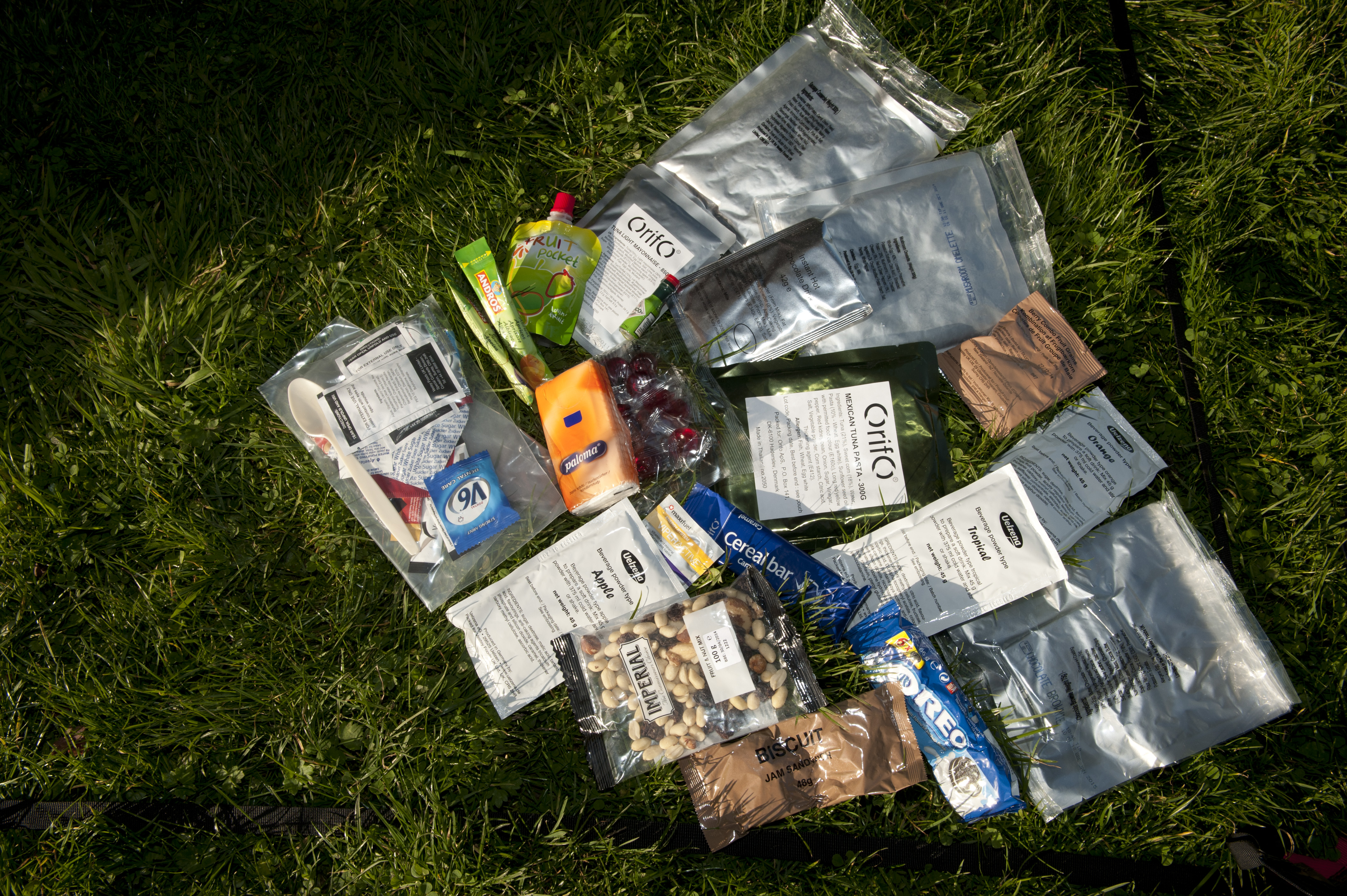 What's in your panniers?