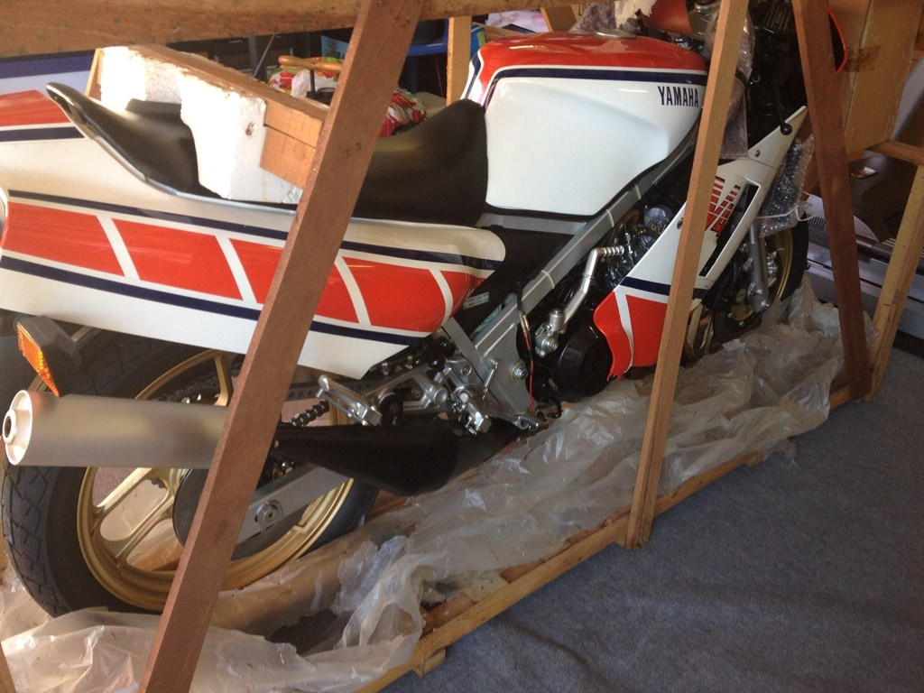 Zero-mile, still crated Yamaha RZ500N for sale | Visordown