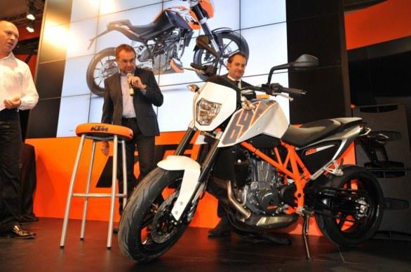 KTM: 500cc and 800cc twins in development