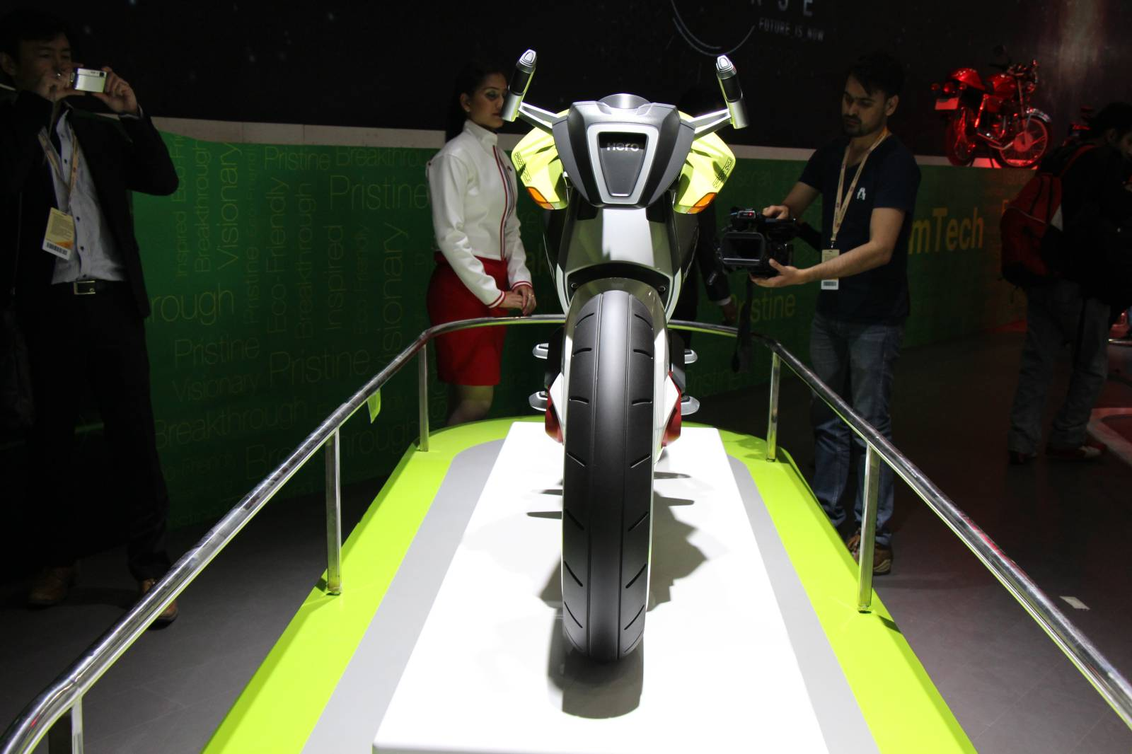 Hero MotoCorp unveils iON hydrogen fuel cell concept