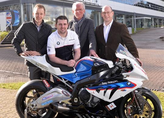 Michael Dunlop announces 2014 plans with BMW