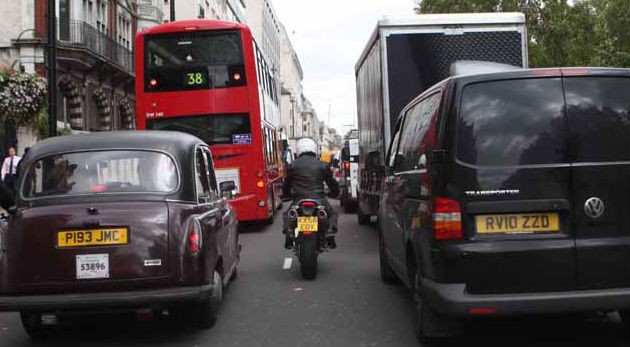 Motorcyclists have greater life satisfaction than other commuters