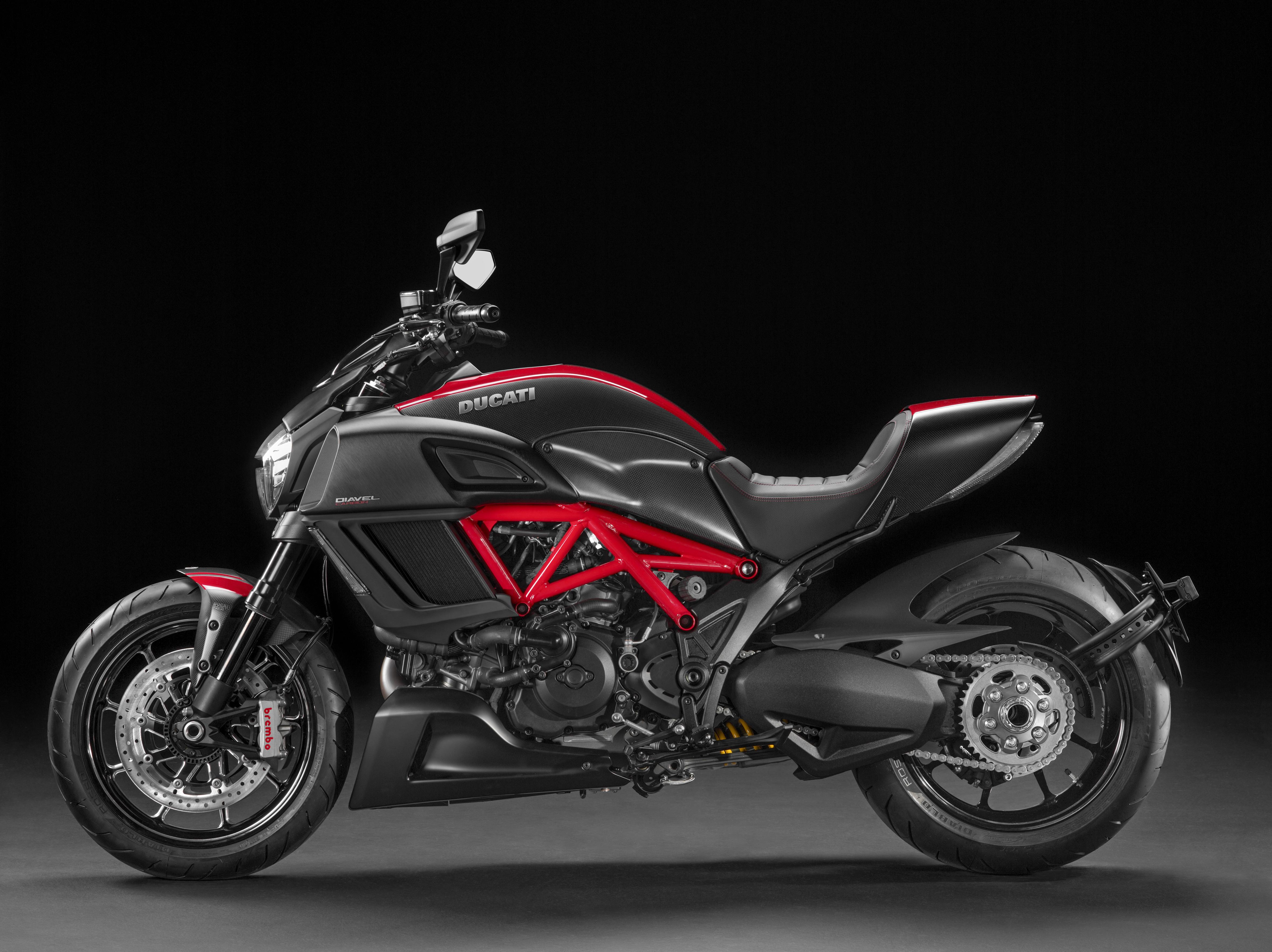 Updated Ducati Diavel unveiled