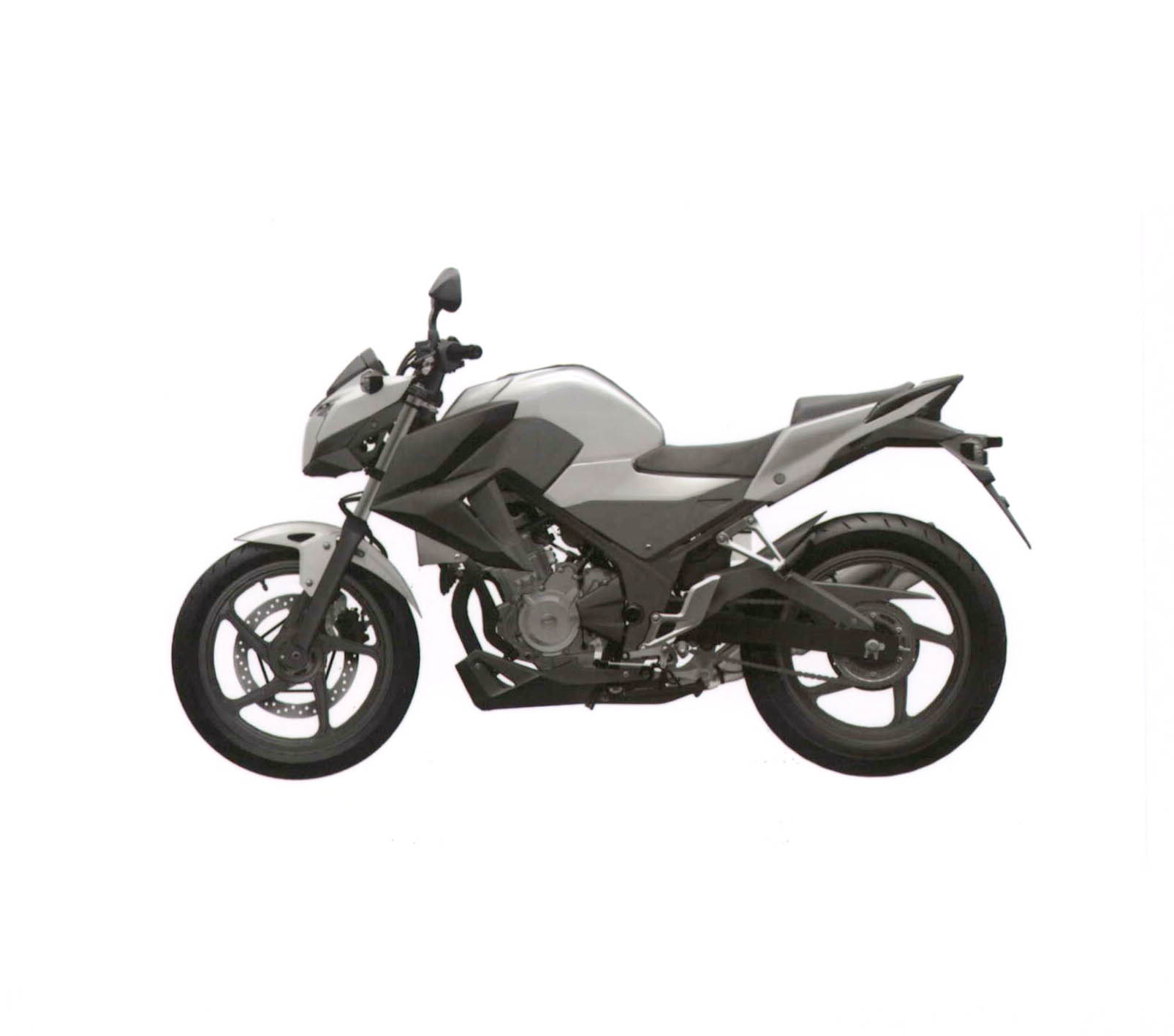 Honda's naked CBR300R