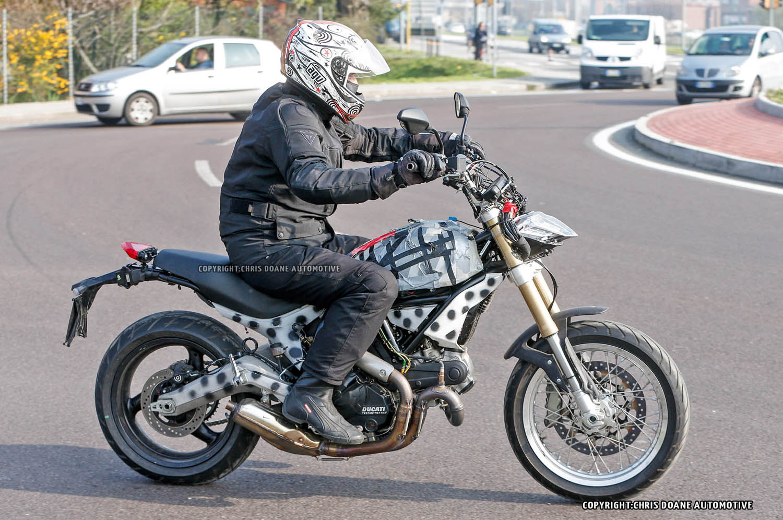 Spy shots: Ducati Scrambler spotted