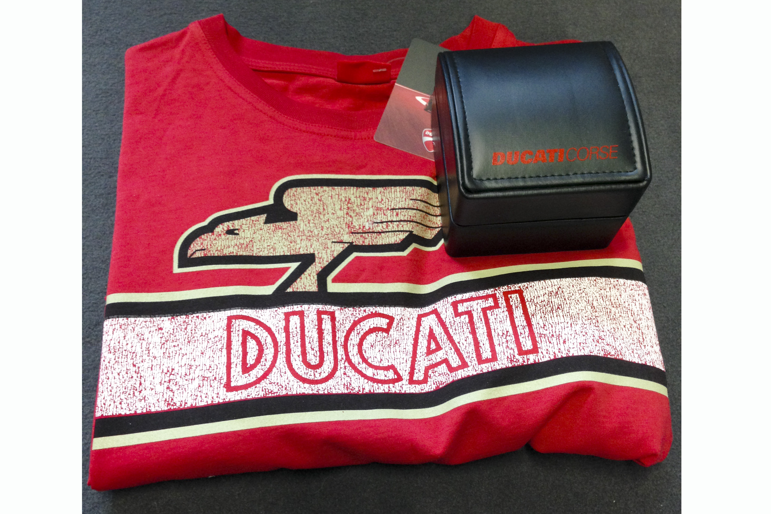 Review a Ducati, win an official Ducati watch worth £160