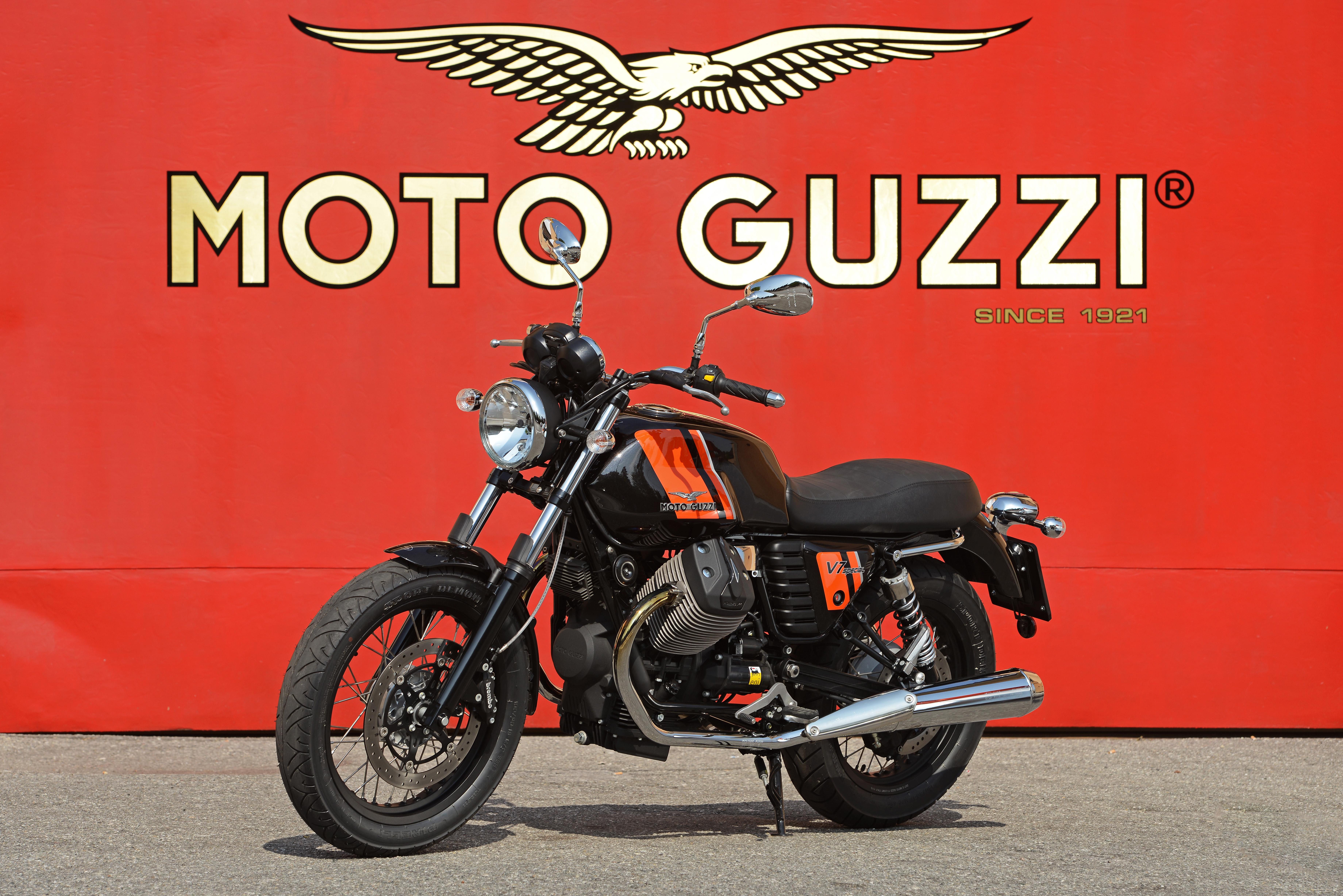 First ride: 2014 Moto Guzzi V7 review | Visordown