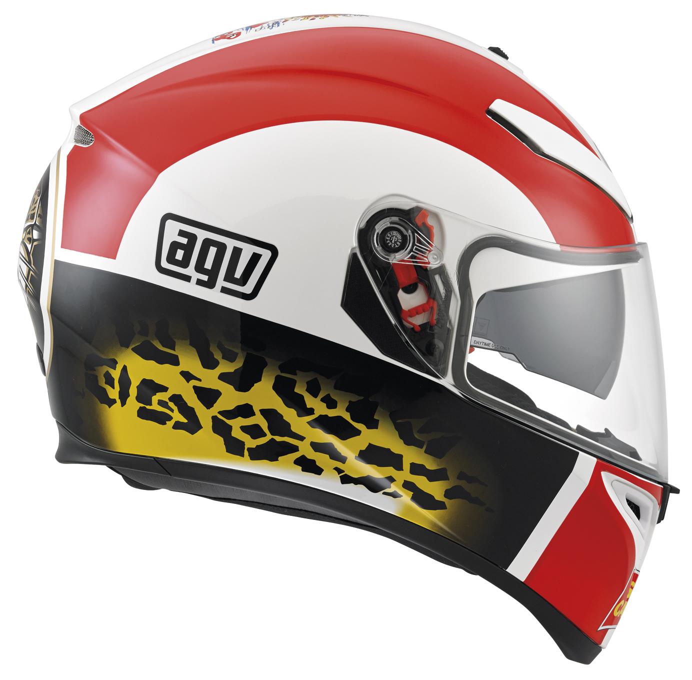 how to change visor on agv helmet