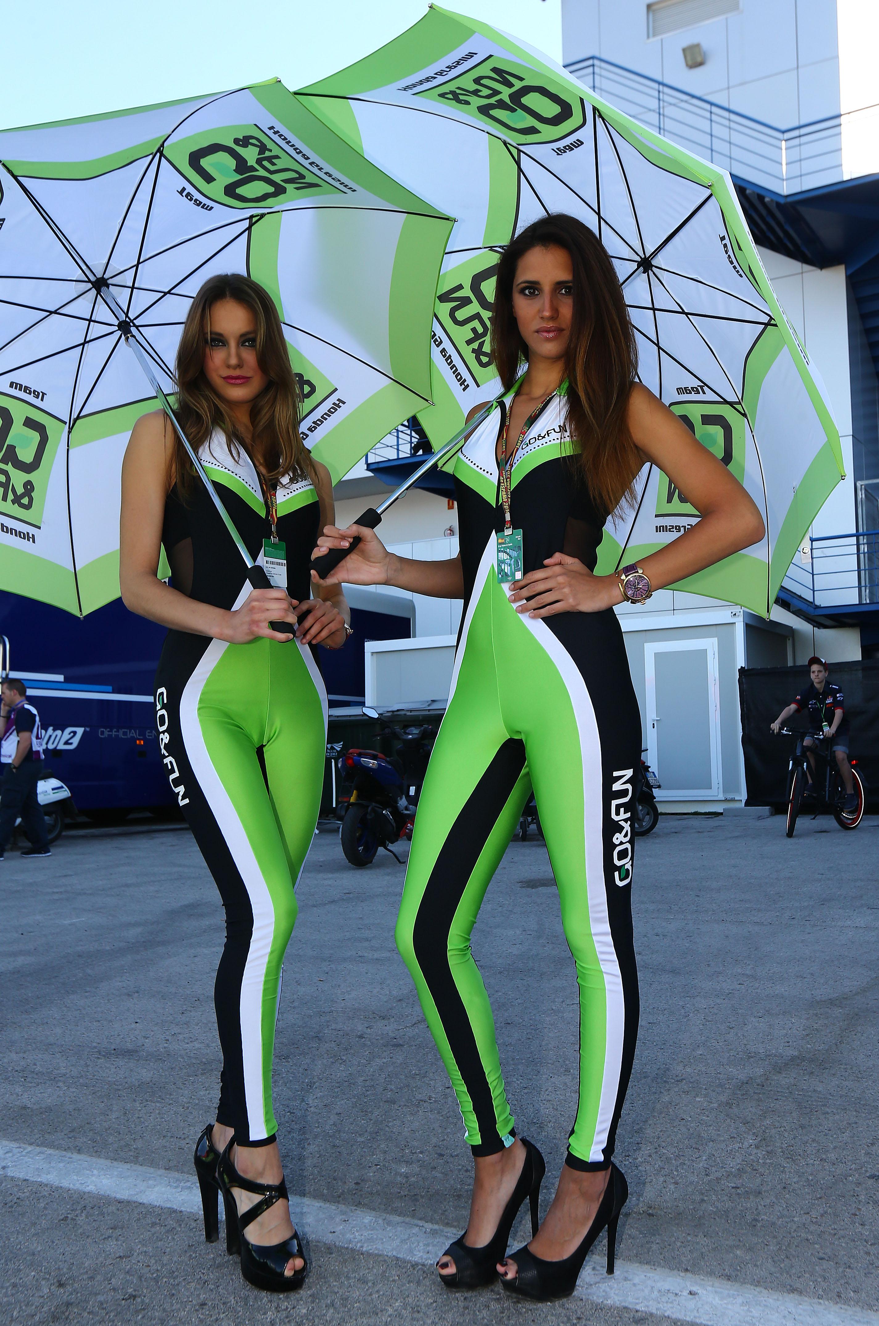 MotoGP Jerez paddock girls 2014 | Visordown