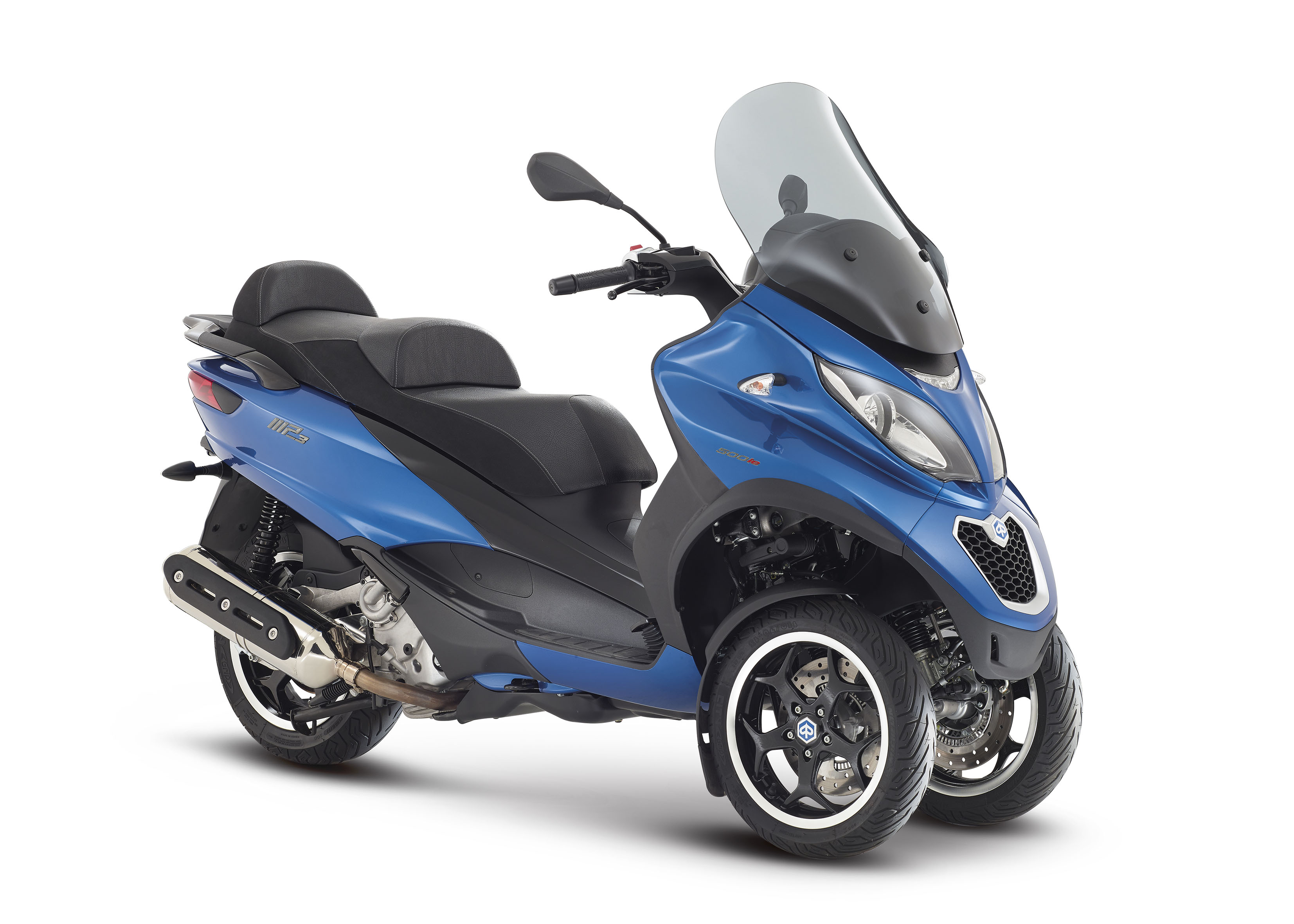 first ride 2014 piaggio mp3 500 sport r visordown. Black Bedroom Furniture Sets. Home Design Ideas