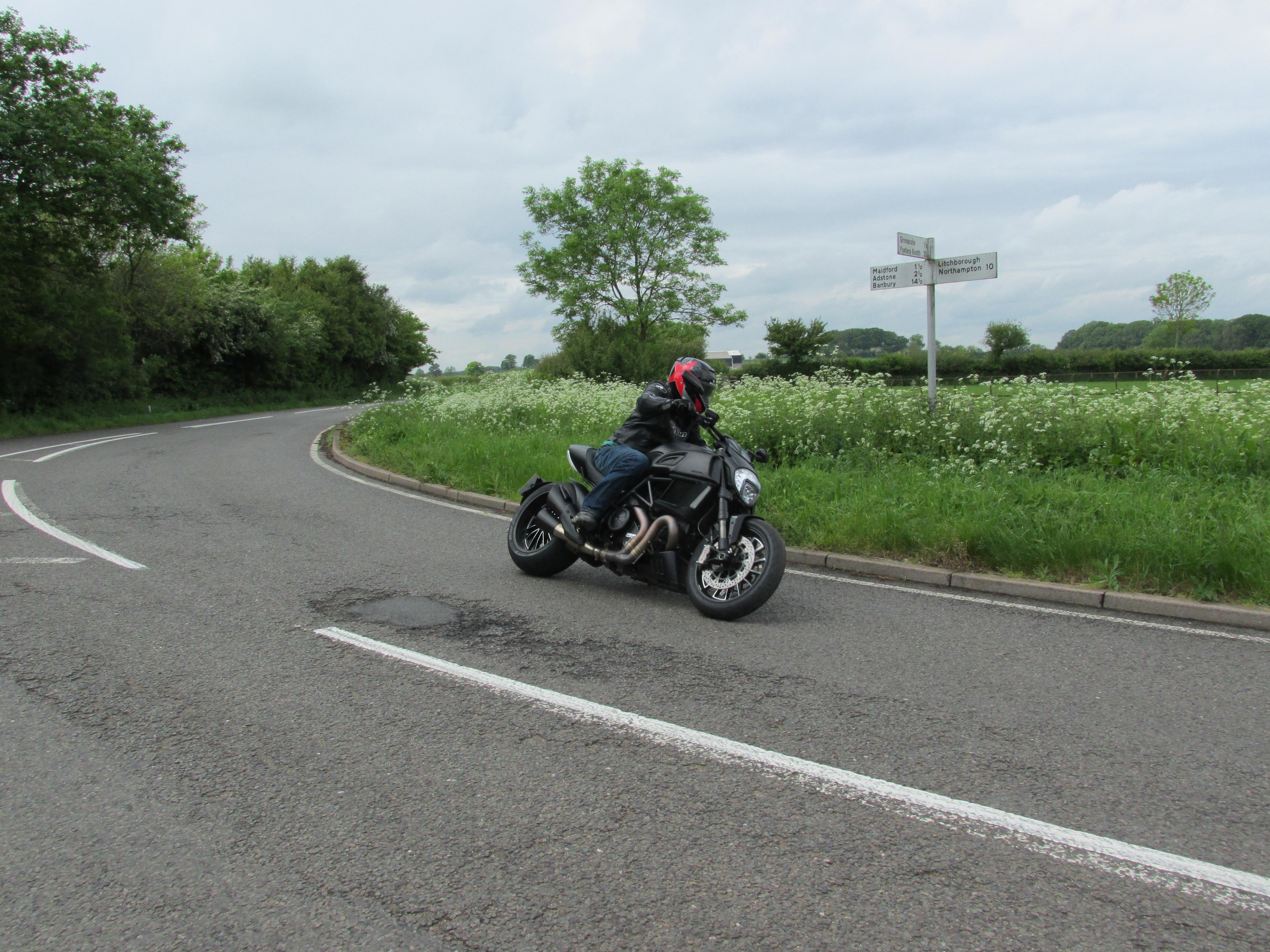 First UK ride: Ducati Diavel 2014 review