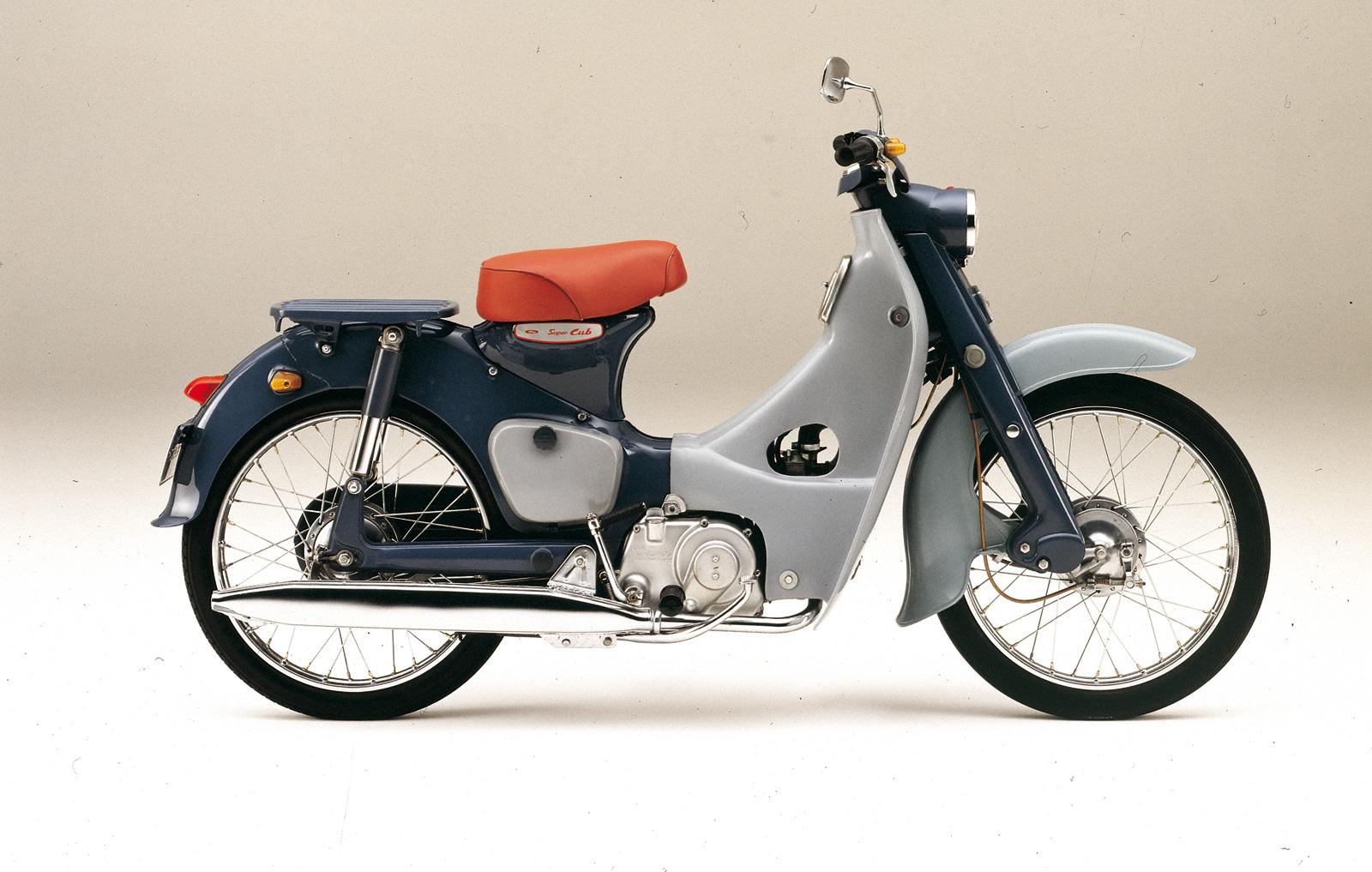 Honda Super Cub gets 3D patent