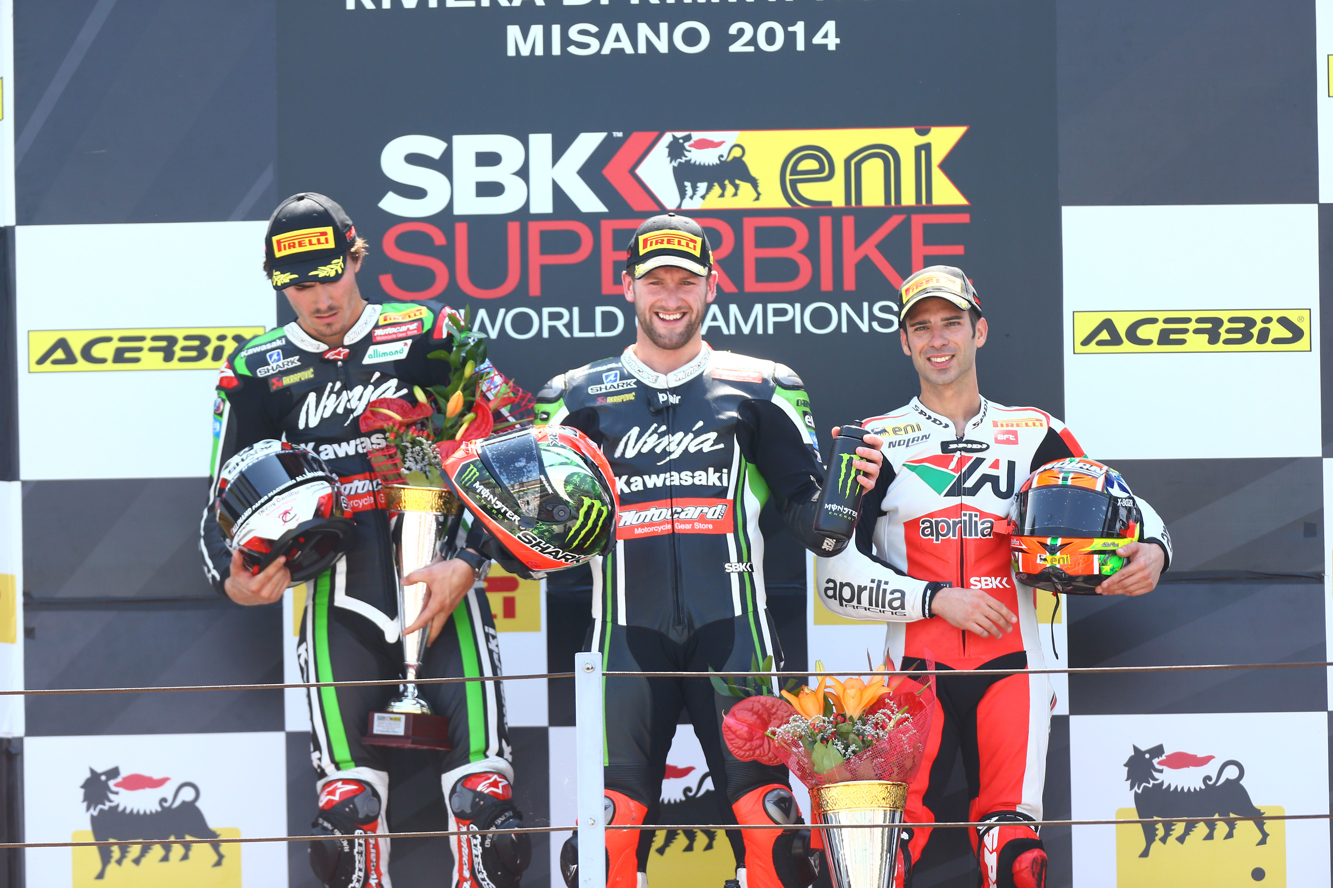 WSB 2014: Championship standings after Misano