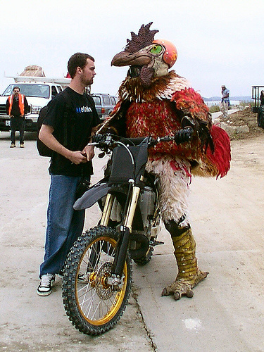Caption that: This bike will get me all the chicks