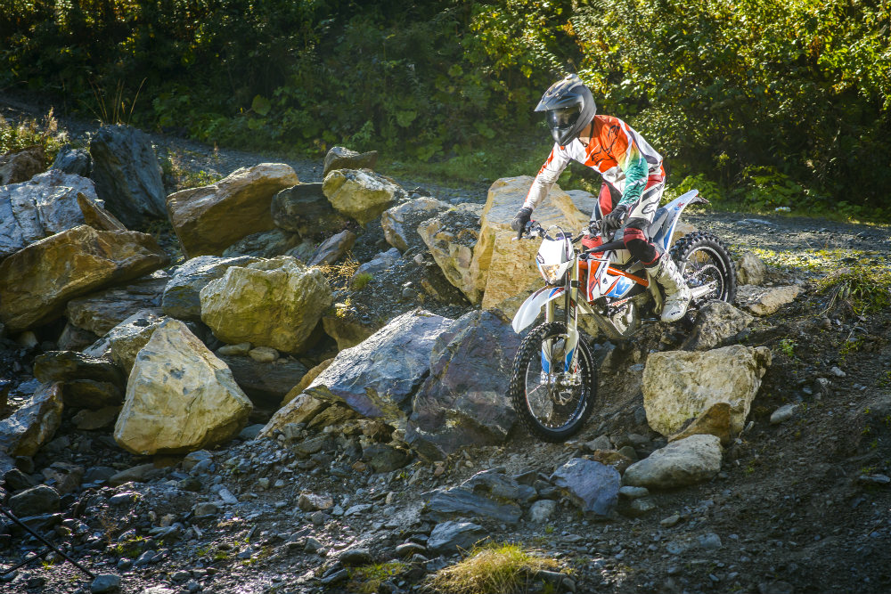 First ride: KTM Freeride E review