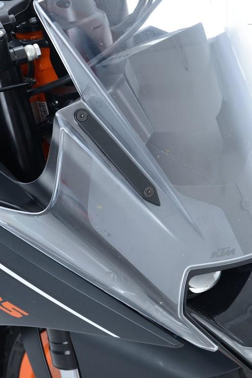 R&G's new crash protection range for KTM RC125