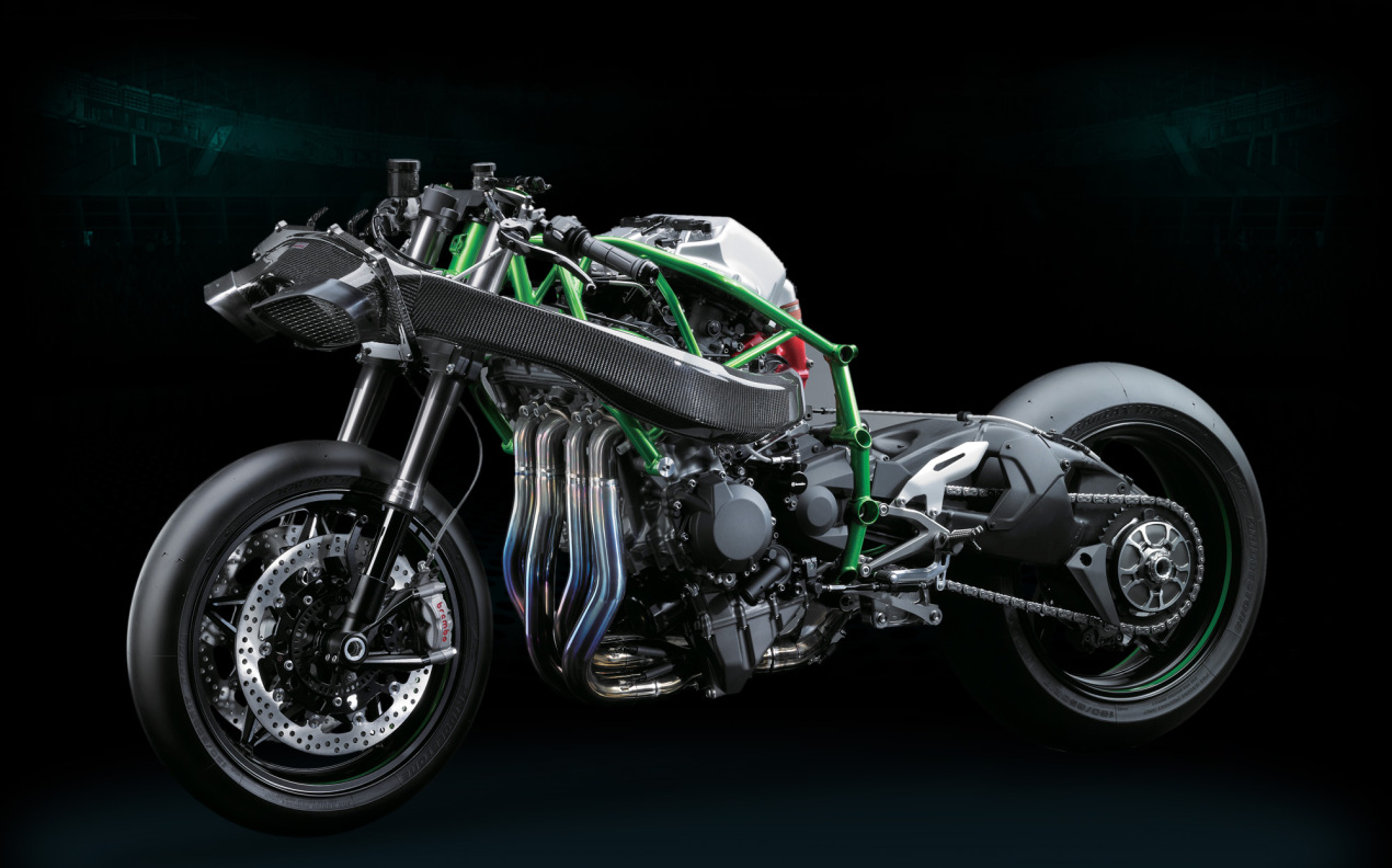 Intermot 2014: Kawasaki Ninja H2R specs and pictures revealed