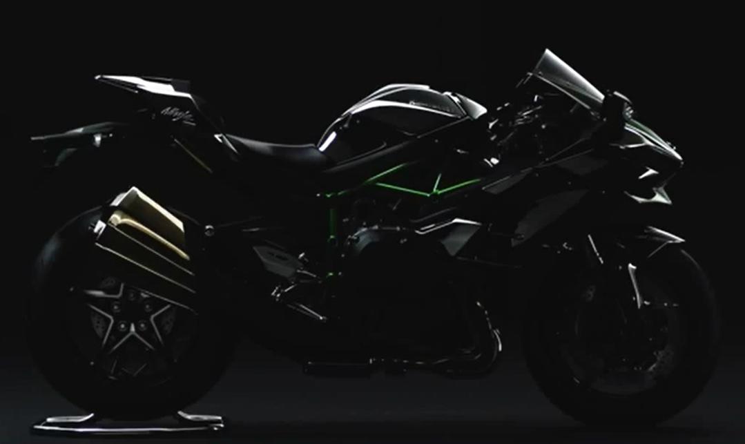 Revealed: street-legal Kawasaki Ninja H2