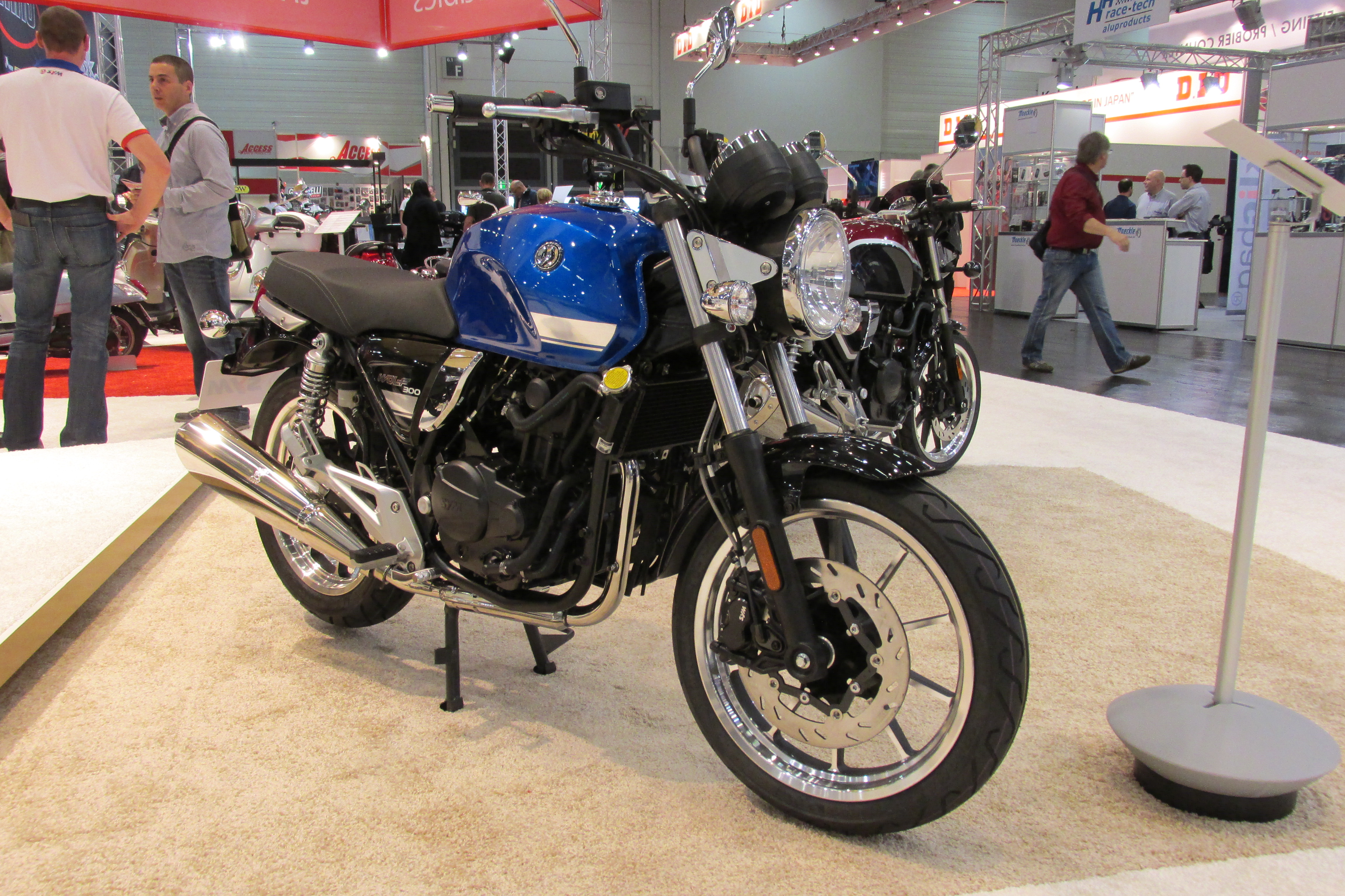 SYM launch Wolf 300 Classic and Café Racer