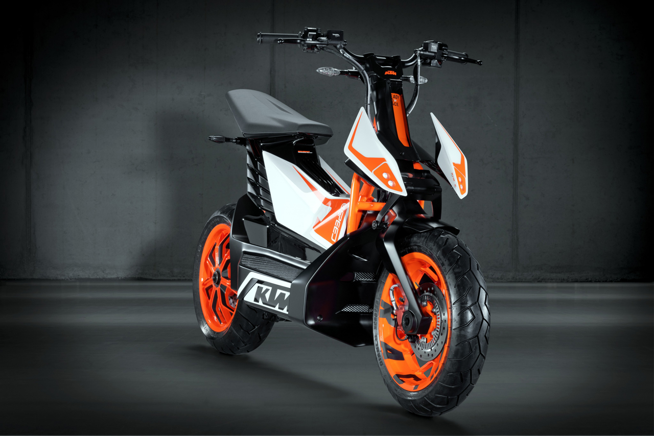 KTM electric scooter project scrapped