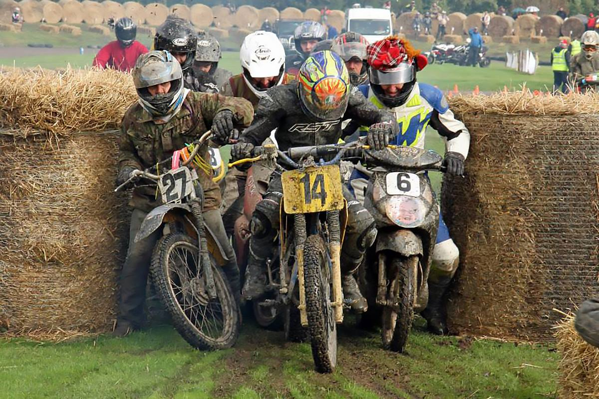 Caption that: The Hare Scramble wasn't the same after sponsorship cuts