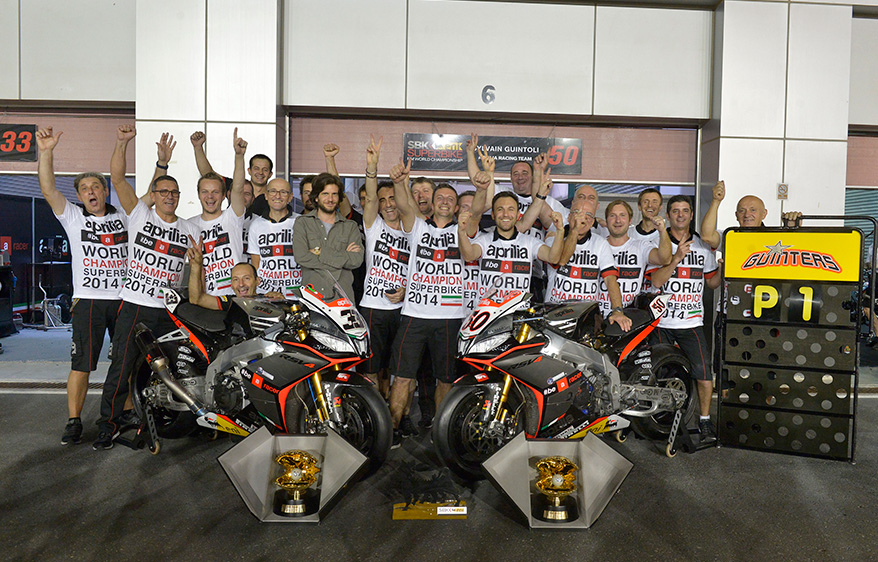 WSB 2014: Championship standings after Qatar