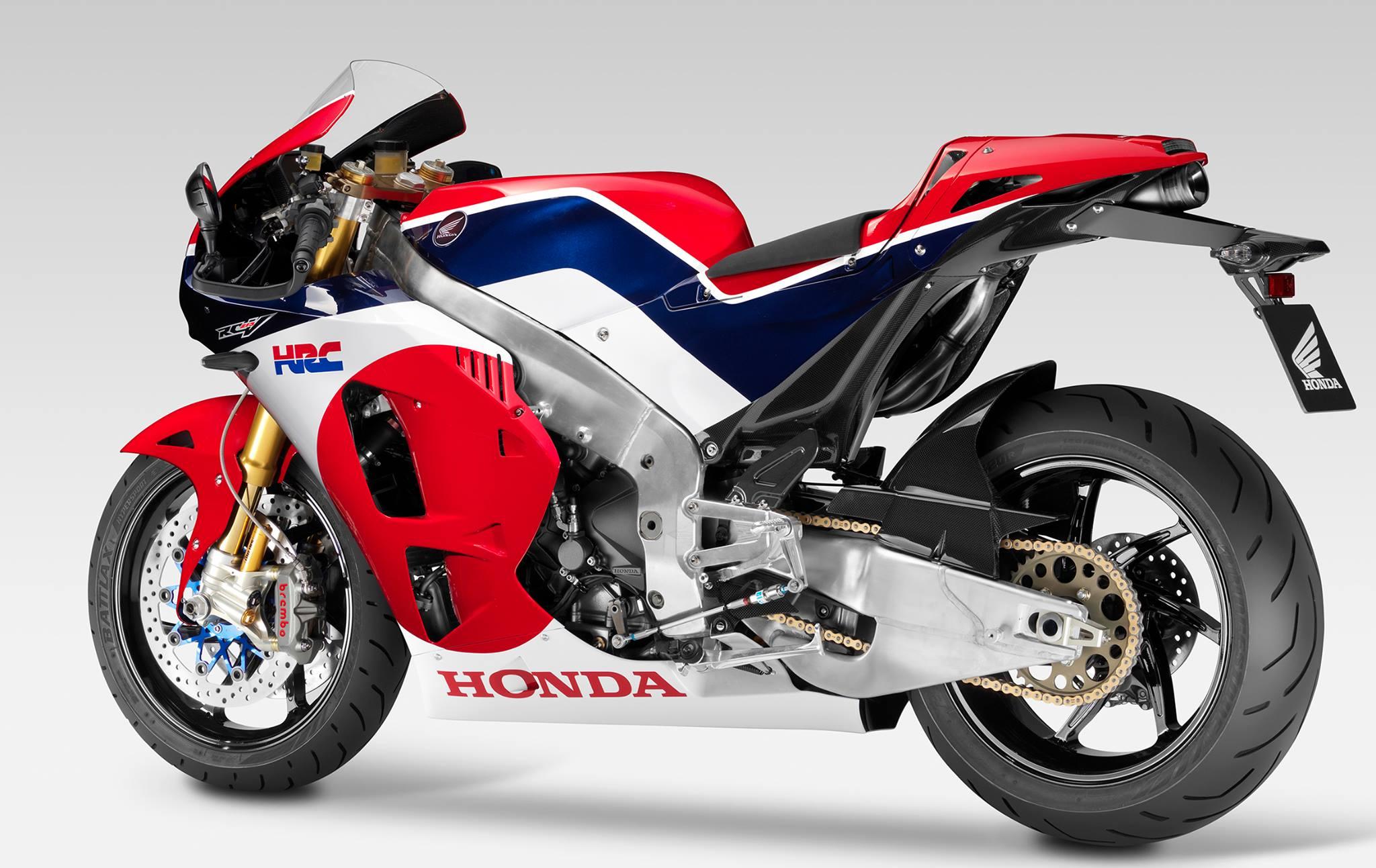 Honda's RCV road bike debuts at Eicma