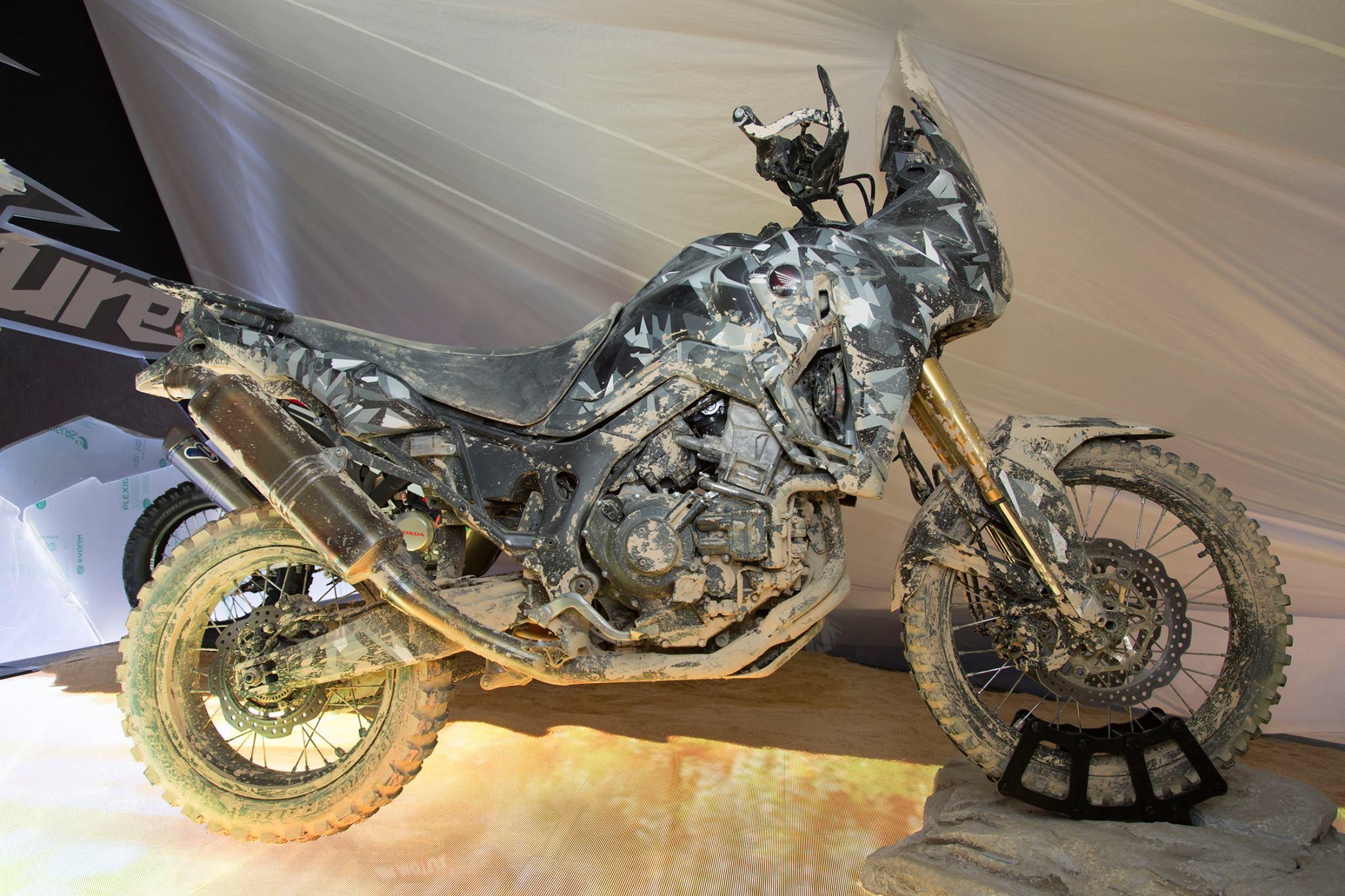 Honda's new Africa Twin