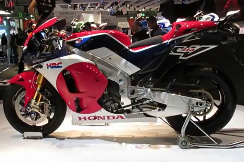 Honda RC213V-S walk-around