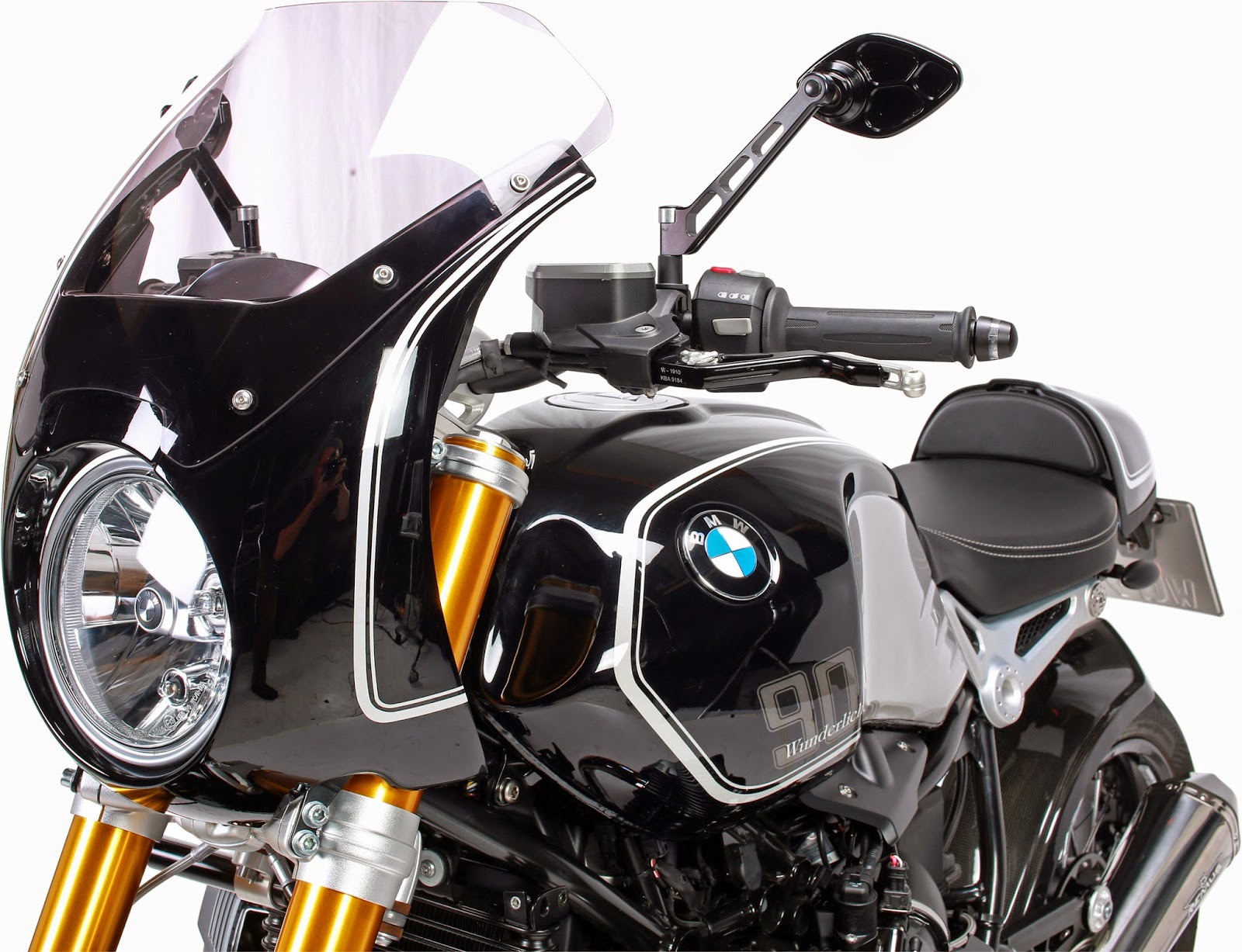 new bmw r ninet daytona fairing from wu visordown. Black Bedroom Furniture Sets. Home Design Ideas
