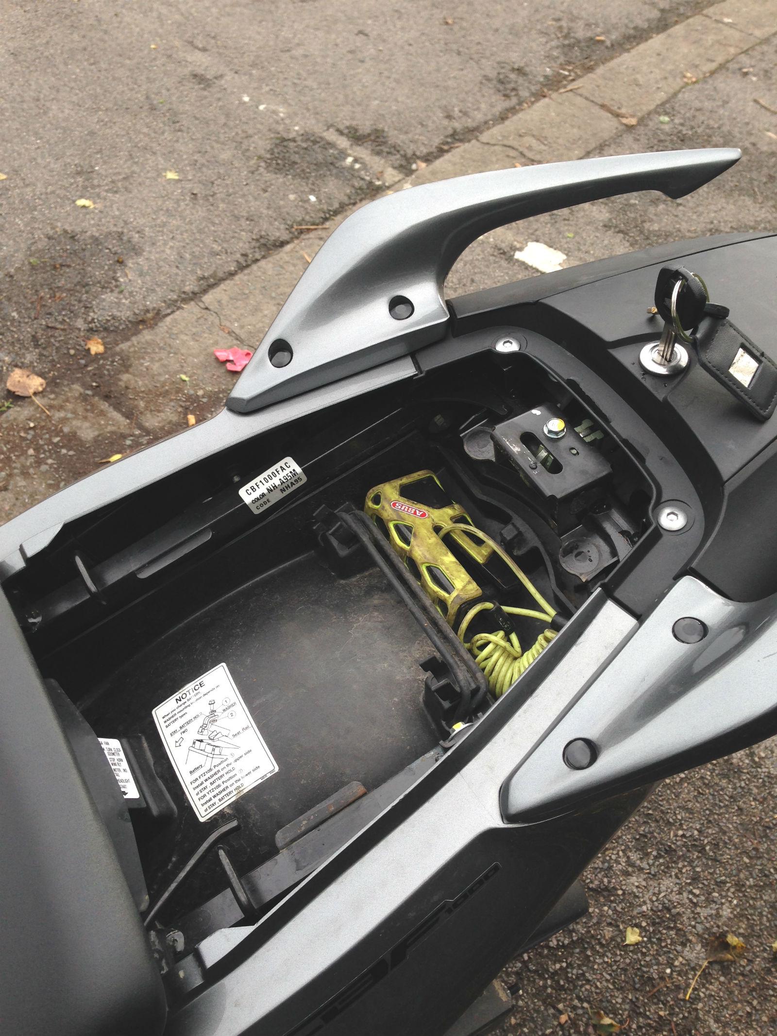 Road test: Honda CBF1000FA review