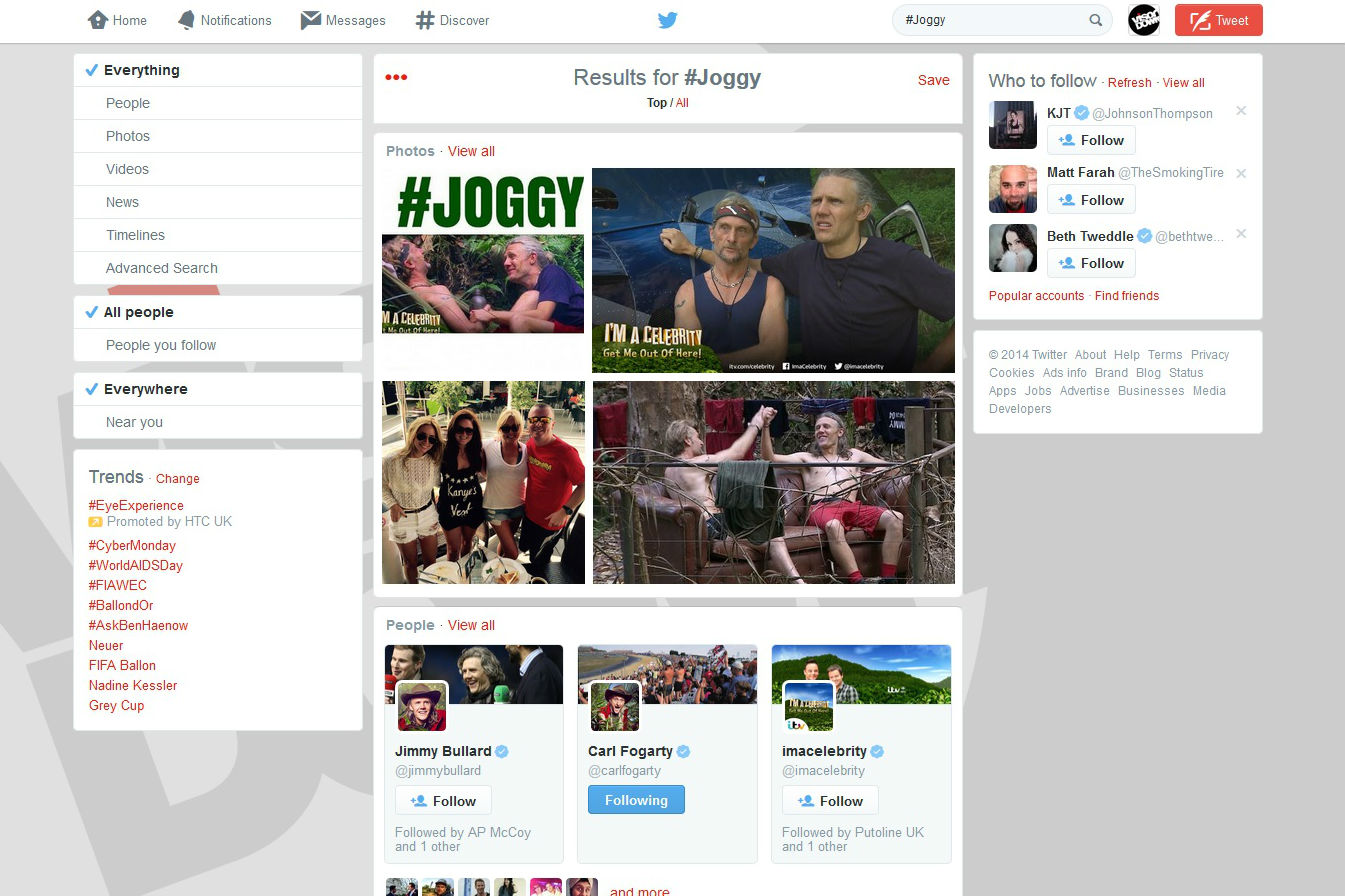 'Leave Foggy's arse alone' warns Michaela Fogarty