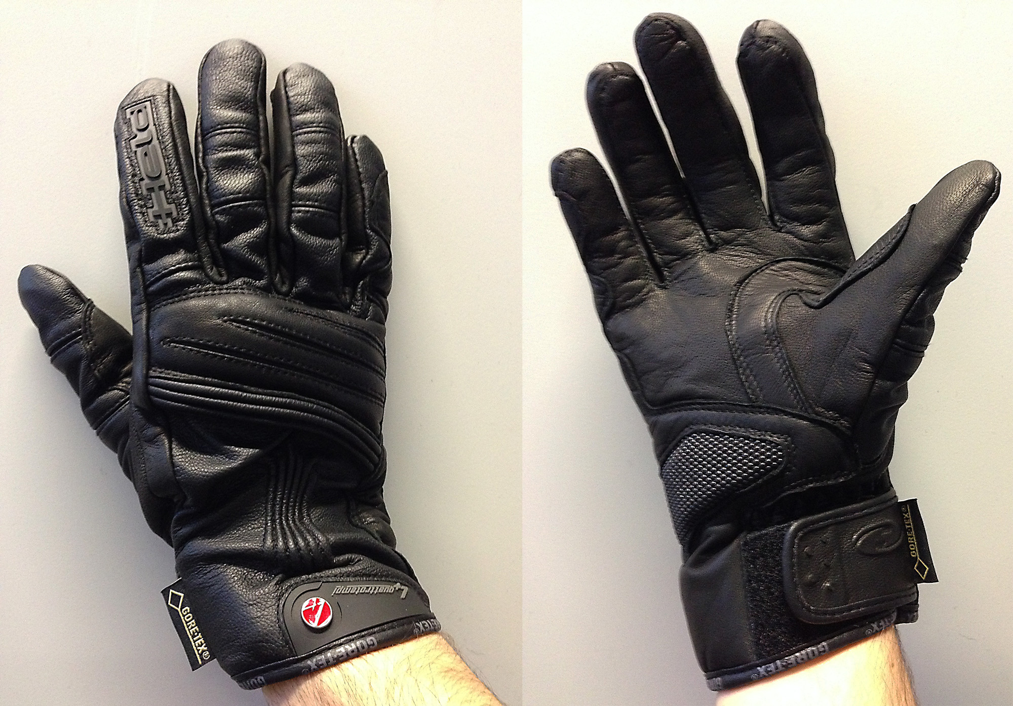 Xtrafit motorcycle gloves - The Wizzard Gloves Are Made From Kangaroo Leather And Goat Skin And Are Probably The Least Winter Biased Gloves In The Test With Their Thin Lining And Short