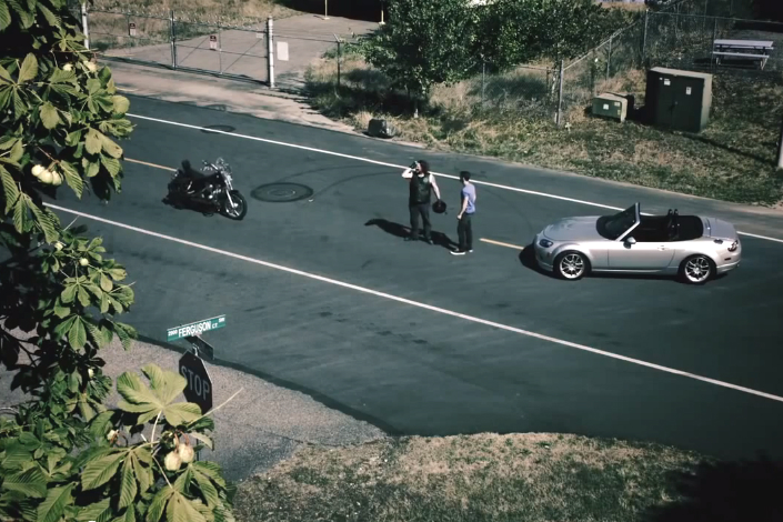 Washington State targets inattentive drivers in motorcycle awareness video