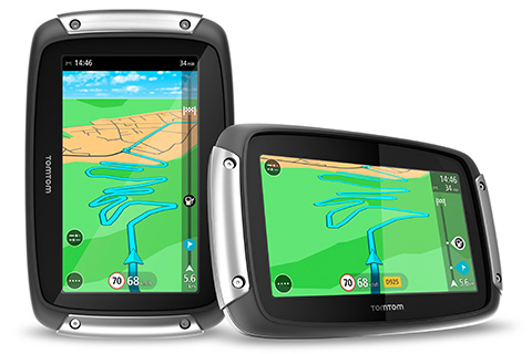 New: TomTom Rider motorcycle GPS