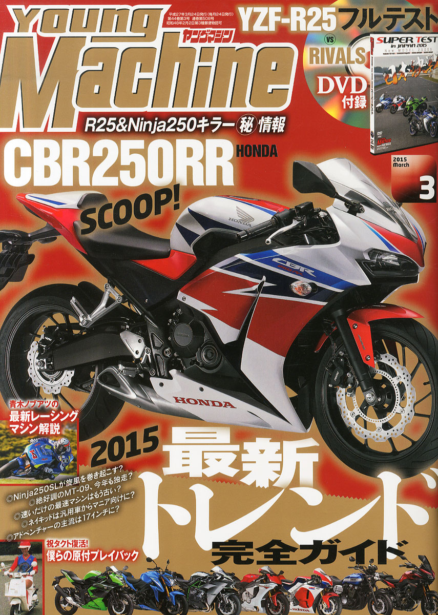 Japanese reports: twin-cylinder CBR250RR planned