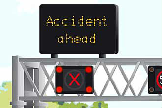 Know what a red 'X' means on the motorway? Nearly a third of motorists don't