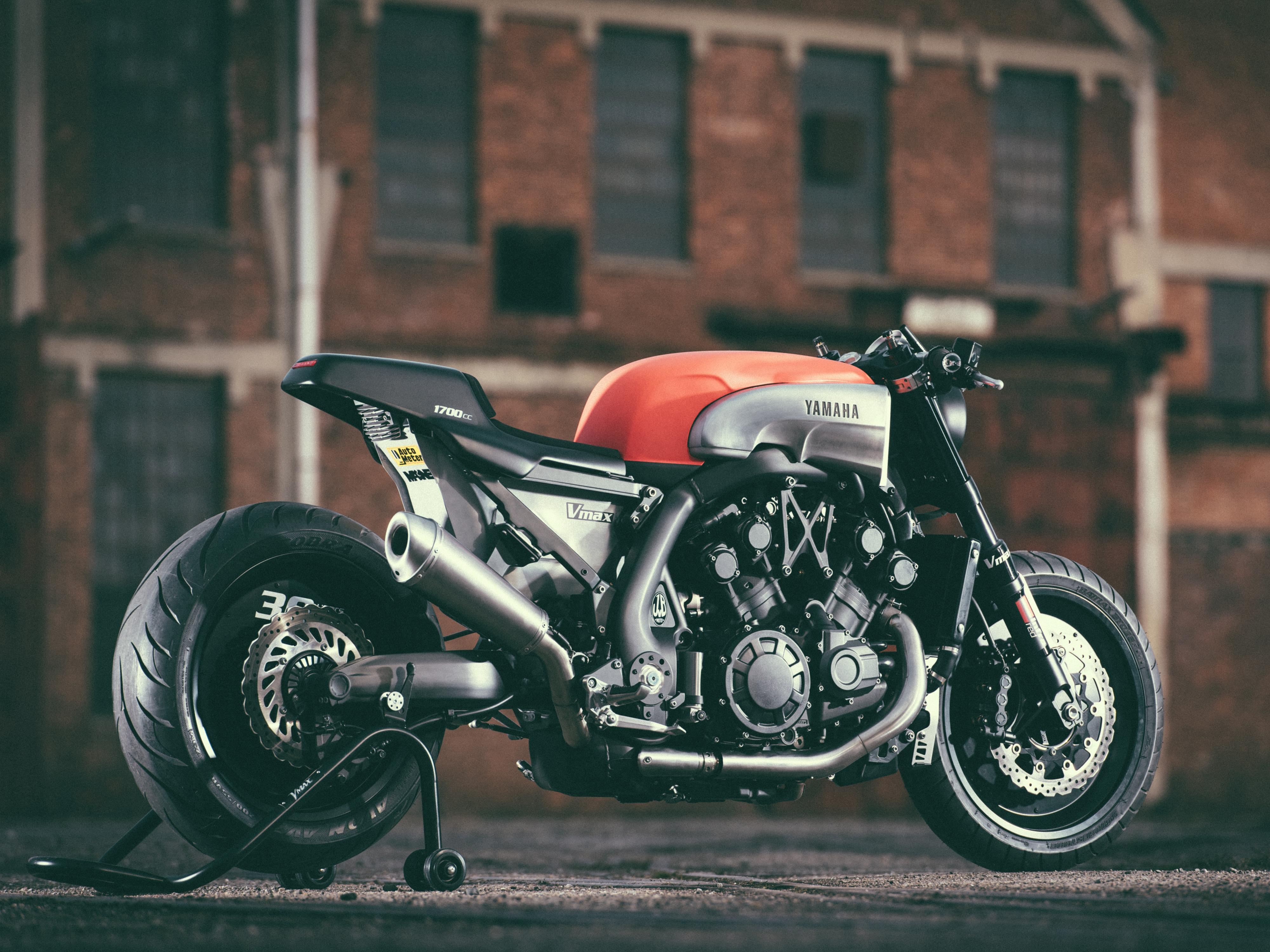 vmax café racer parts | visordown