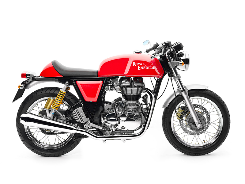 Royal Enfield Continental GT – now in black