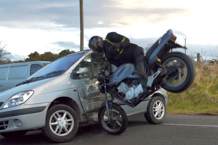 Northern Ireland's shocking new road safety video